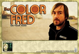 The Color Fred - Bend To Break