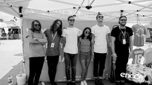The Maine - Vans Warped Tour 206 at Merch Booth