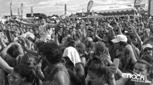 The Crowd during The Maine's Performance at the 2016 Vans Warped Tour in Houston, TX