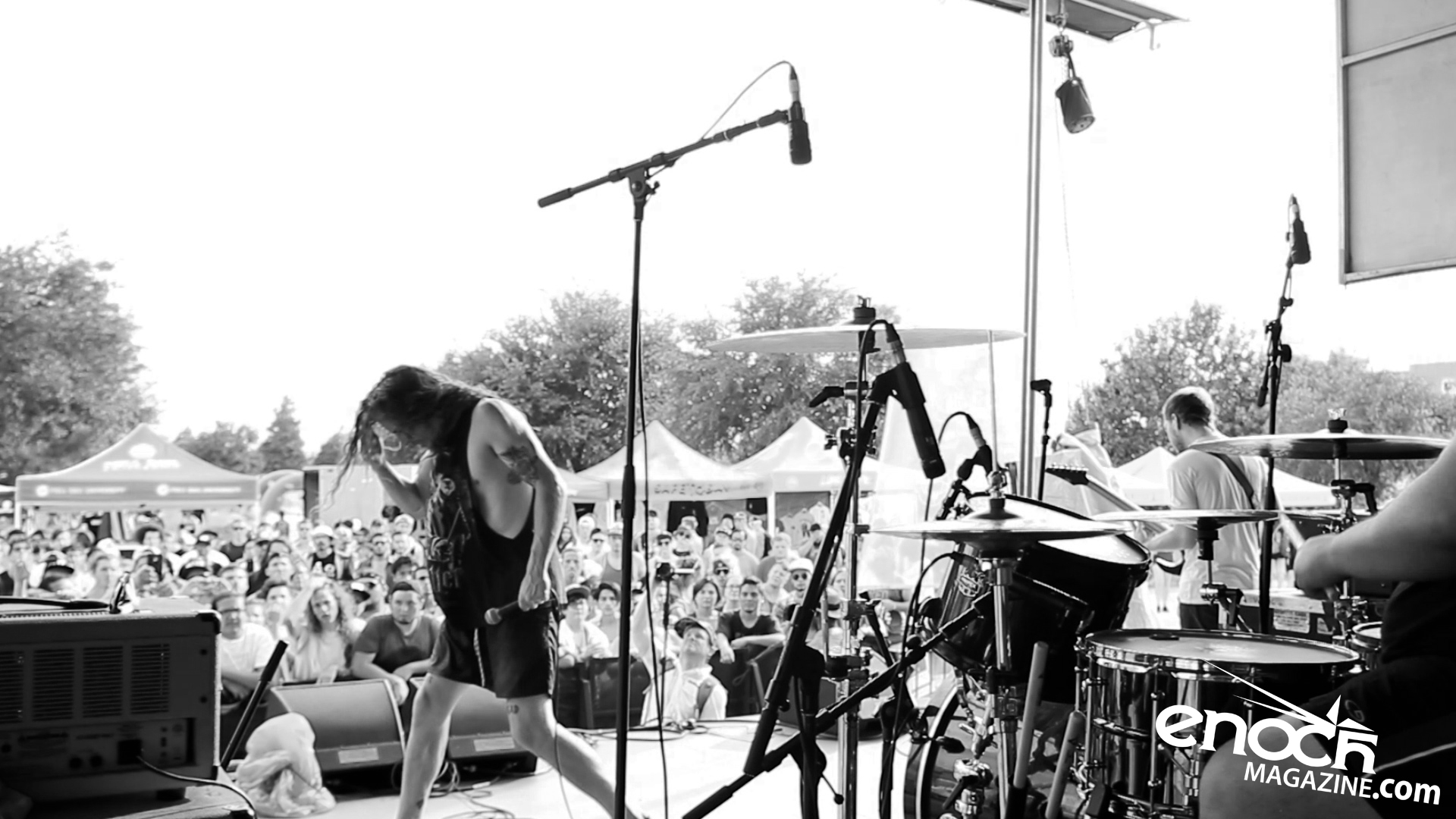 Silent Planet live 2016 Vans Warped Tour in Houston, TX